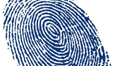 Fingerprints make bad passwords