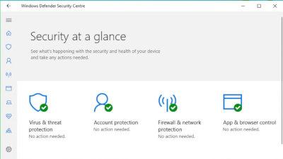 Windows Defender 2018